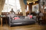 Tetrad Empire Grand Sofa in Ralph Lauren Signature Fabric